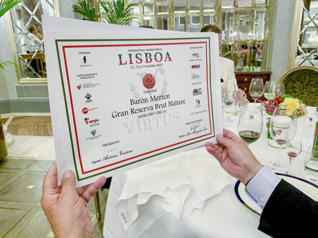 premios-virtus-2021-cava-reserva-baron-merten-chaine-rotisseurs